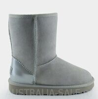 UGG NEW Short Metallic II Grey Violet