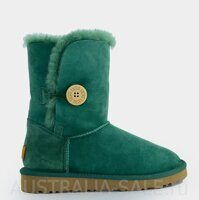 UGG Bailye Button II Dark Green