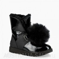 UGG Isley Patent Boot Black - Черные