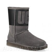 UGG Classic Rubber Boot Grey - Серые