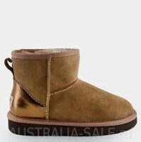 UGG Classic Mini II Metallic Antilope