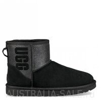 Mini UGG Boot Sparkle Black - Черные