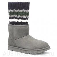 UGG II Sacai Mini Knit Grey - Серые