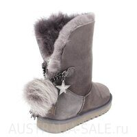 UGG Sharm Goat Ash Grey - Серые