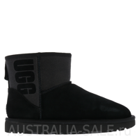 UGG Mini Boot Rubber Black - Черные
