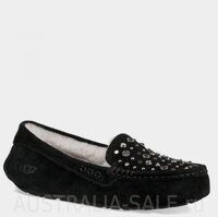 UGG Ansley Studded Bling Black